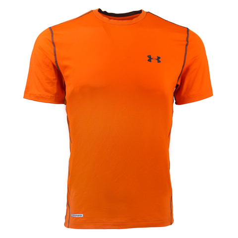 Orange/Black Under Armour Men's T-Shirt