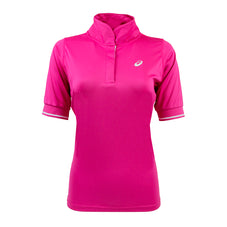 Pink Asics Women's Polo Shirt