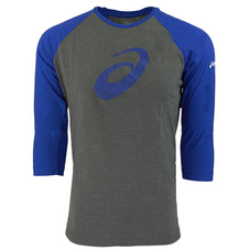 Graphite/Royal Blue Asics Men's T-Shirts & Tanks