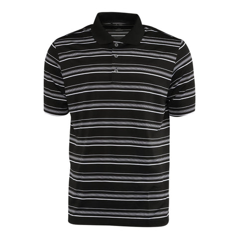 Black/White adidas Men's Polo Shirt