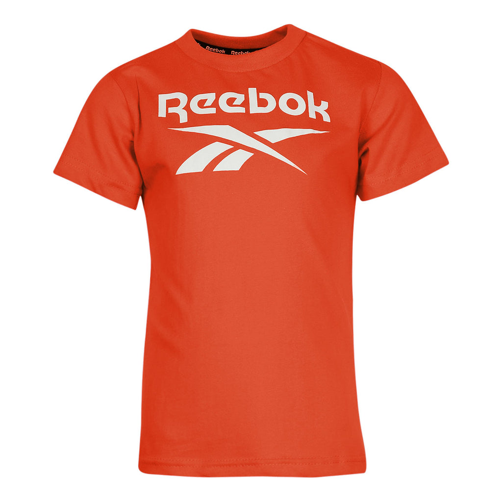 4-Pack Reebok Boy's Short Sleeve Vector Logo Tee