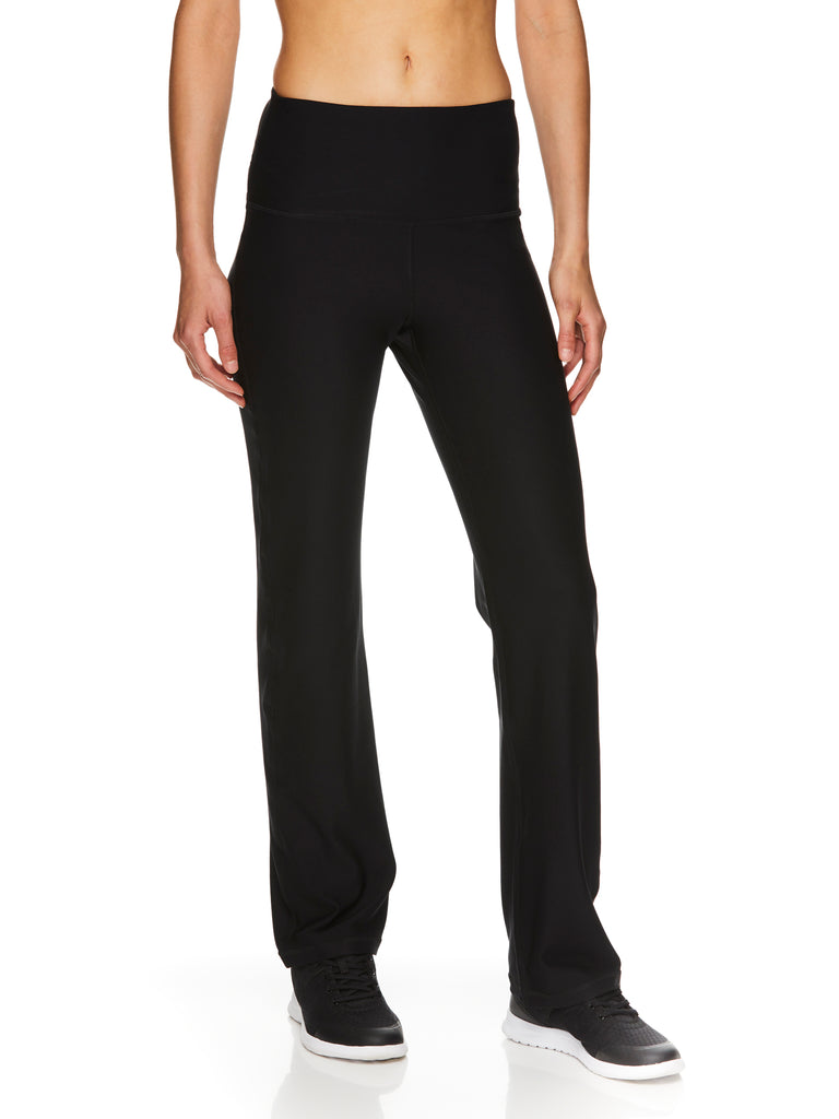 Reebok Women/'s Lean Highrise Running Pants