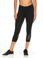 Deals on Reebok Womens Wanderlust Highrise Capri Leggings