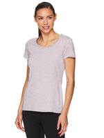 Reebok Womens Fitted Performance Varigated Heather T-Shirt