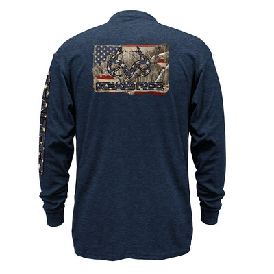 Airforce Blue Heather-