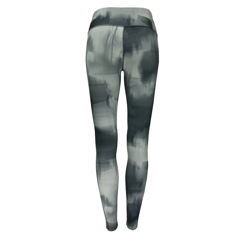 Black/Grey Print CC Women's Leggings