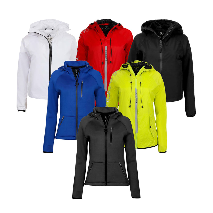 3-Pack Body Glove Women's Jackets (Assorted Colors)