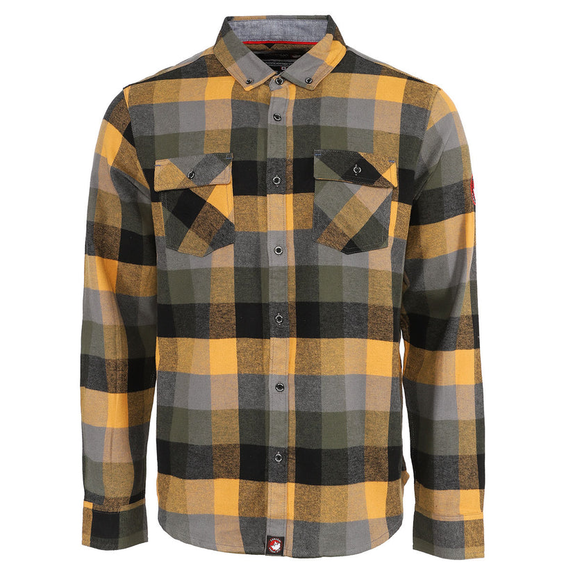 Canada Weather Gear: Men's Flannel With Chambray Lining! 2 for .00 (REG .00) at Proozy!