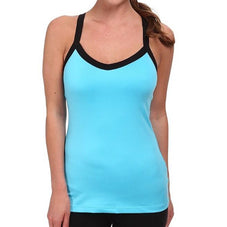 Bluebird Aqua Asics Women's Tanks
