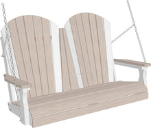 Load image into Gallery viewer, Amish Luxcraft - 4ft Poly Adirondack Porch Swing