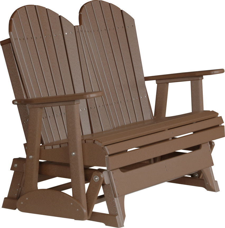 Amish Luxcraft - 4ft Poly Adirondack Glider