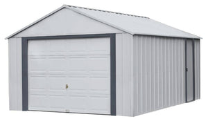 ARROW Sheds Murryhill 12' x 17' Metal Shed - Prefab Garage Kit - SKU BGR1217FG