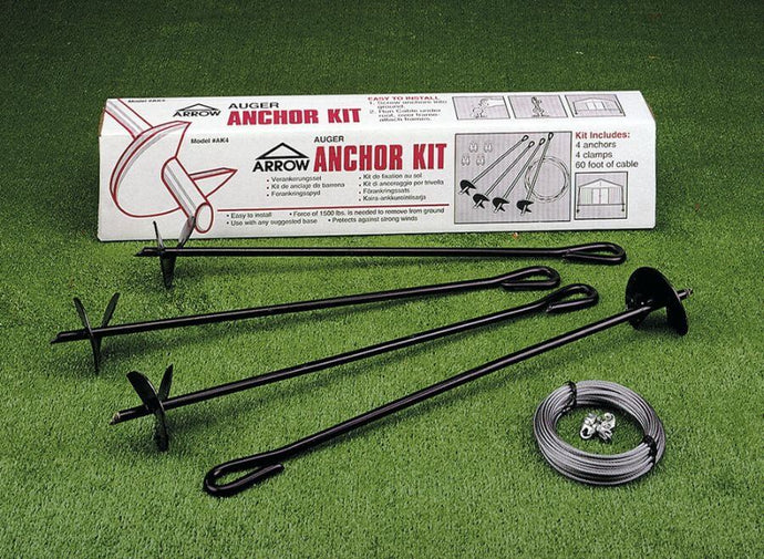 ARROW Anchoring Kit - Earth Anchor (Auger & Cable)
