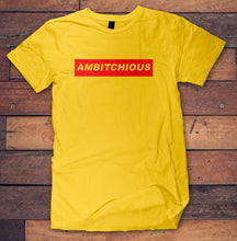Load image into Gallery viewer, AmBITCHious Ambition Cotton Tee