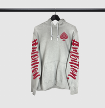 Load image into Gallery viewer, Ambition Arm Script Drawstring Hoodie