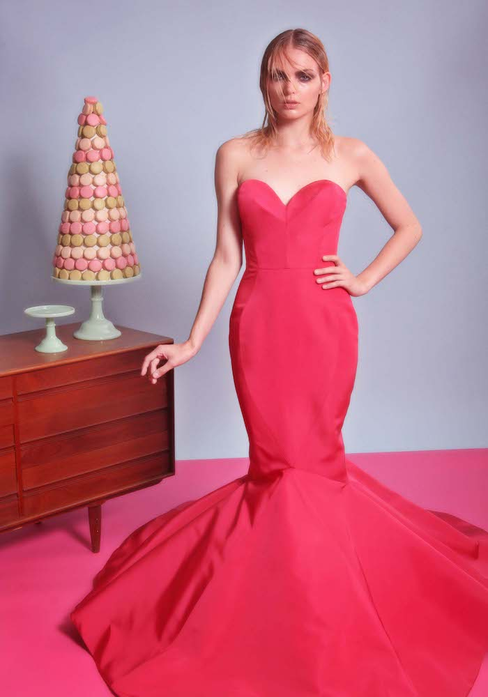Sweetheart Strapless Mermaid Hem Gown