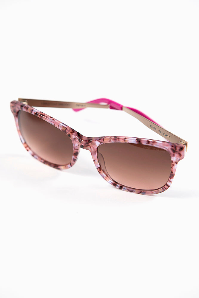 Pink Marble Sunglasses