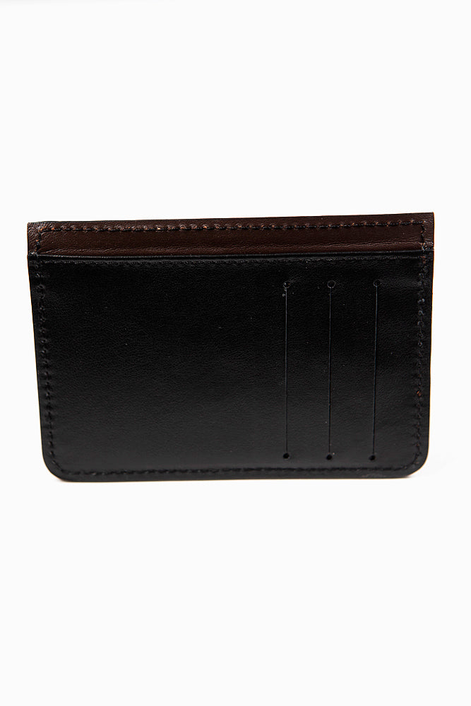 Black and Brown Card Holder
