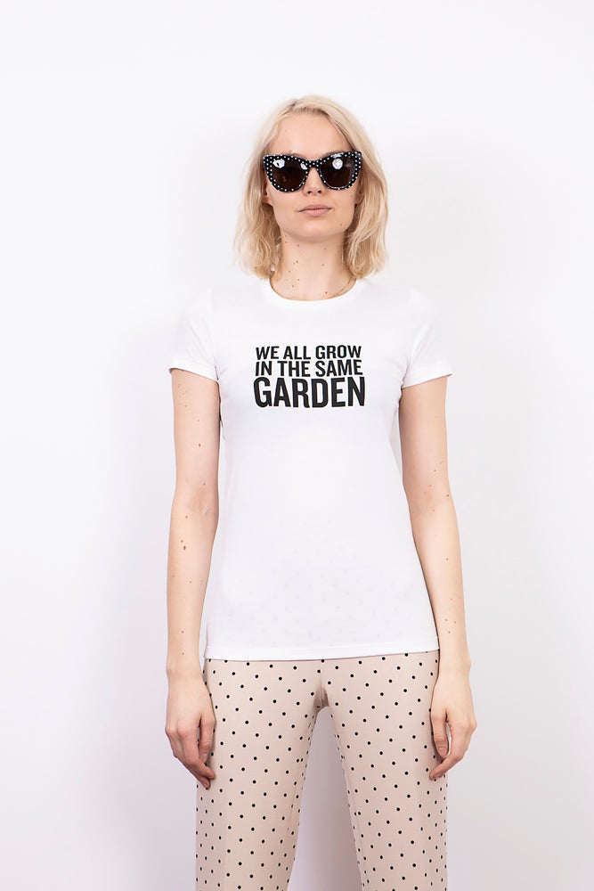 """We All Grow In The Same Garden"" T-Shirt"