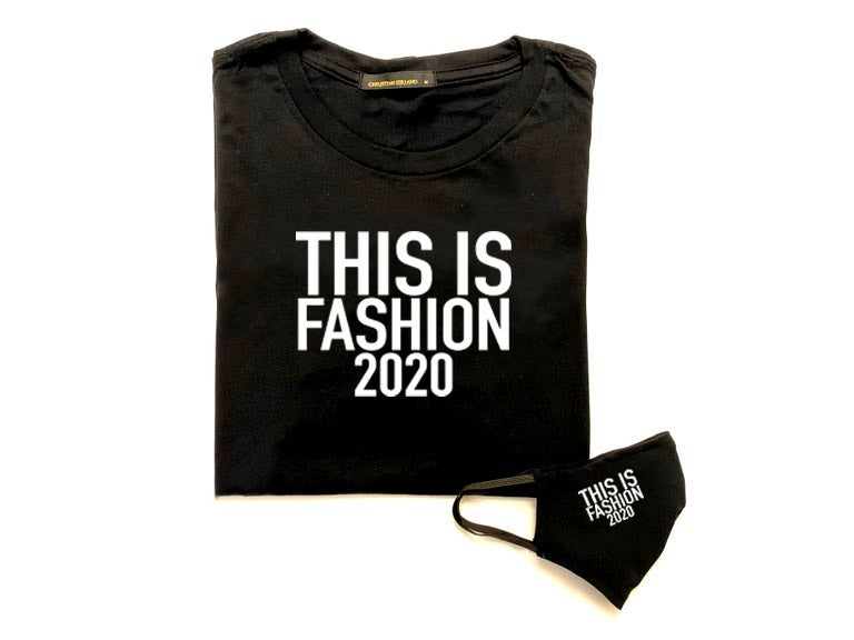 """This is Fashion 2020"" T-Shirt/Mask Combo"
