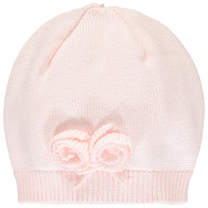 Emile et Rose 1910PP Tawny Pink Knit All in One & Hat