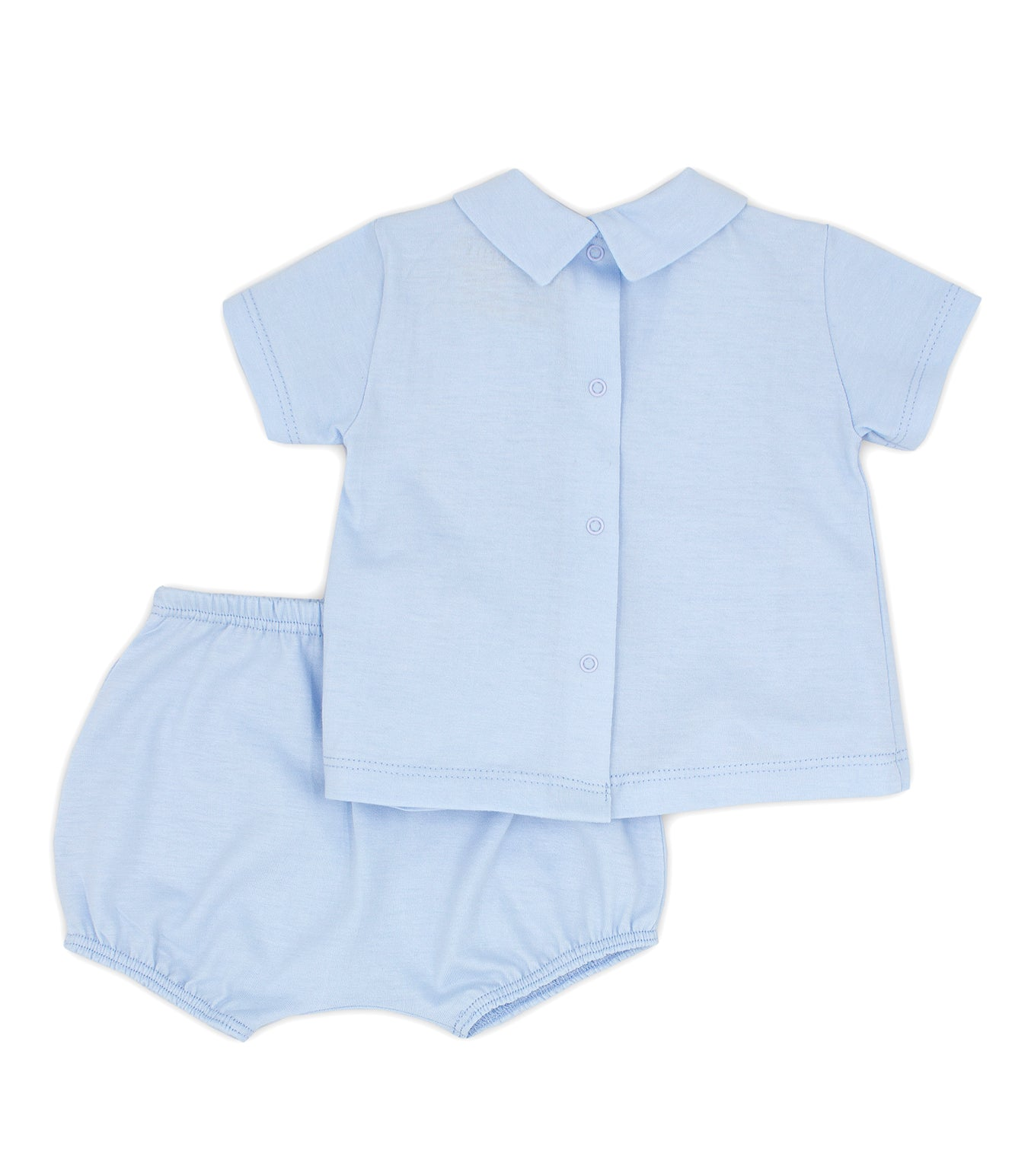 RAPIFE 4114 T-SHIRT AND BLOOMERS SKY BLUE