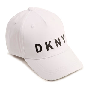 DKNY D21188 GIRLS  WHITE CAP