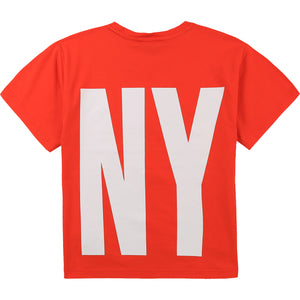 DKNY D25D29 GIRLS  POPPY T-SHIRT