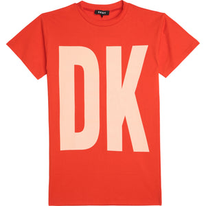 DKNY D32777 GIRLS  POPPY SLEEVE DRESS
