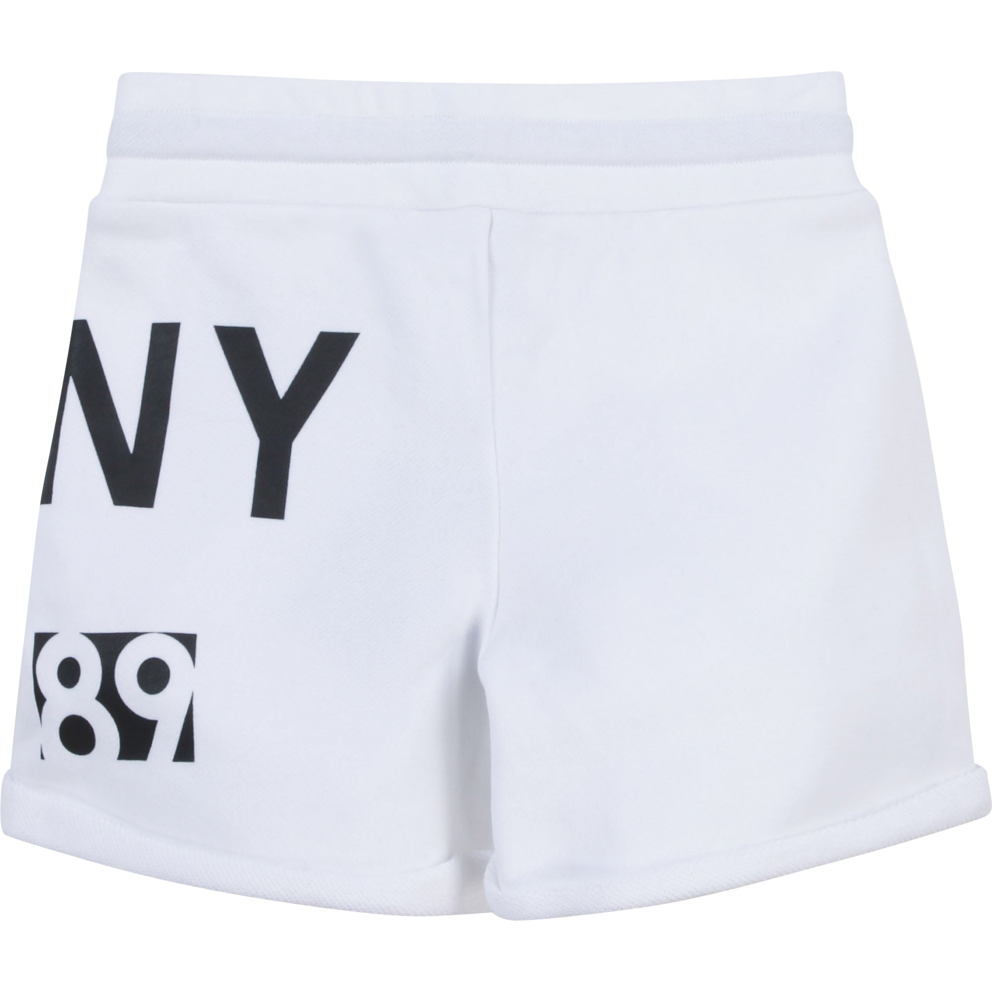DKNY D34A23 GIRLS  WHITE BEACH SHORTS