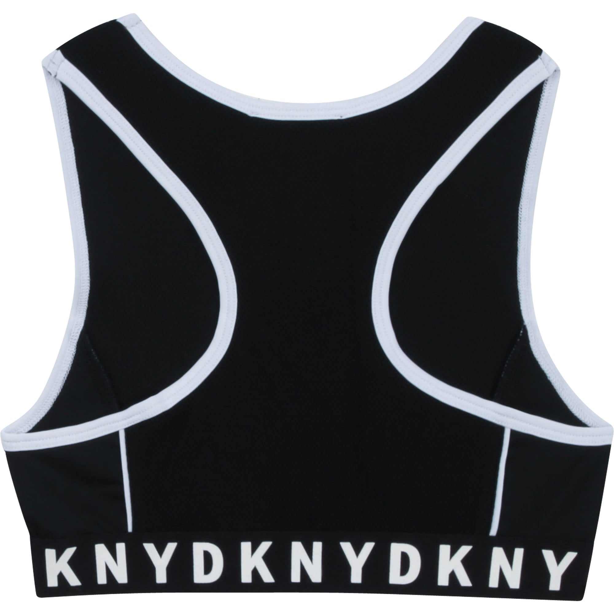 DKNY D35R19 GIRLS  BLACK UNDERSHIRT