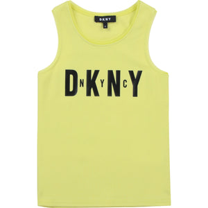 DKNY D35R21 GIRLS  CITRINE TANK TOP