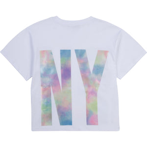 DKNY D35R52 GIRLS  WHITE T-SHIRT