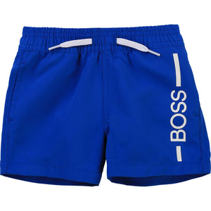 Hugo BOSS J04404 BABY BOY SWIM SHORTS PALE BLUE