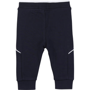 HUGO BOSS J04M63 BABY BOY JOGGING BOTTOMS NAVY