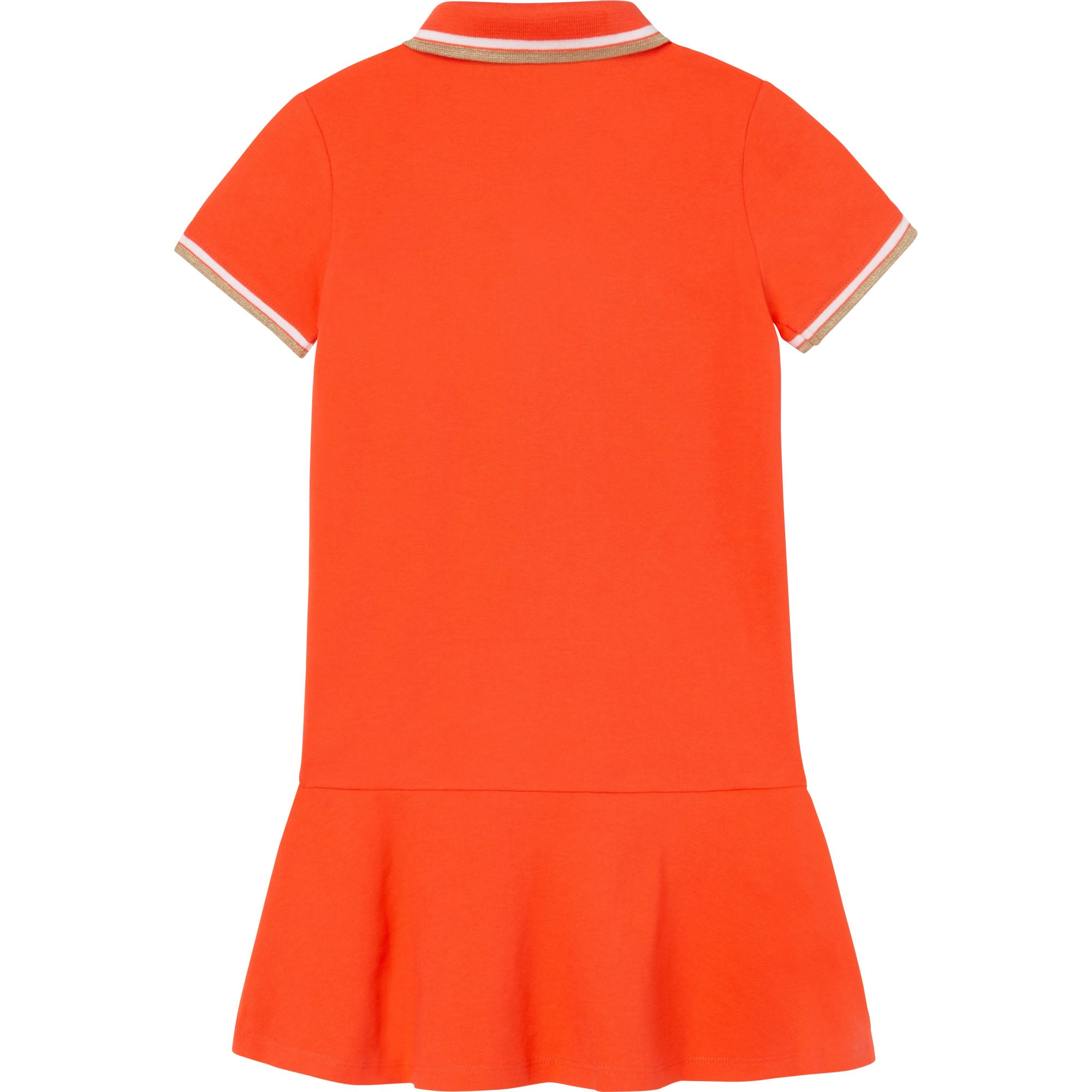 HUGO BOSS J12191 GIRLS DRESS PEACH