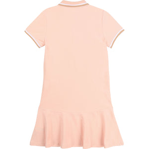 PRE ORDER  HUGO BOSS GIRLS DRESS PALE PINK