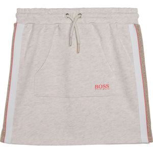HUGO BOSS J13101 GIRLS SKIRT SAND CHINE