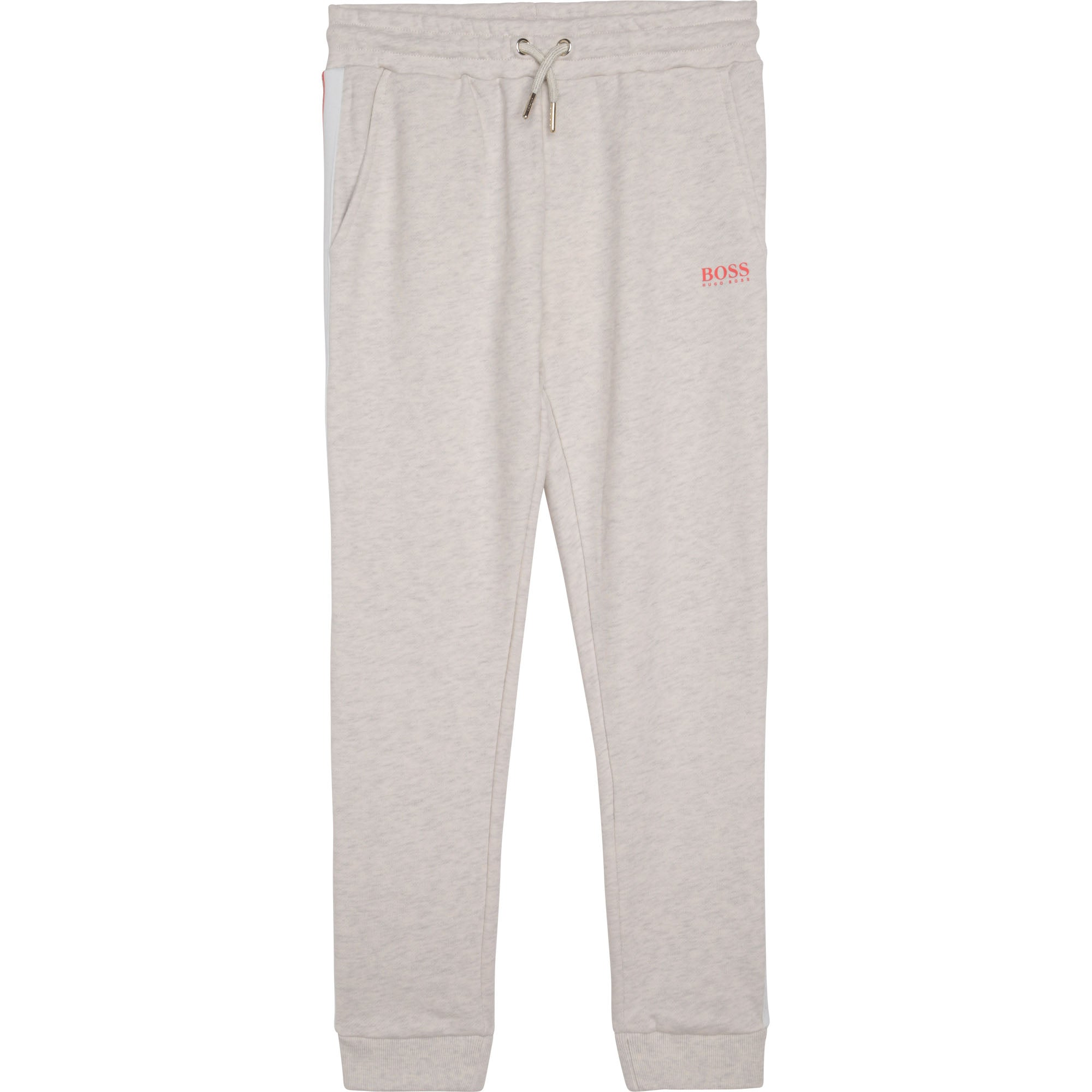 HUGO BOSS J14218 GIRLS JOGGING BOTTOMS SAND CHINE