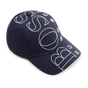 HUGO BOSS J21236 BOYS BASEBALL CAP NAVY