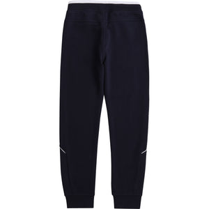 HUGO BOSS J24M35 BOYS JOGGING BOTTOMS NAVY