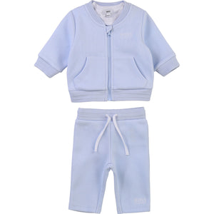 PRE ORDER  HUGO BOSS BABY BOY TRACK SUIT PALE BLUE
