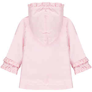 Little A LS21200 Jaydn Baby Pink Rose Button Jacket