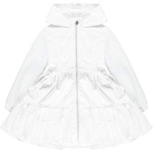 ADEE S211200 LACEY Wide frill bow jacket WHITE