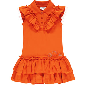 ADEE S211704 LAURYN Tennis dress ORANGE