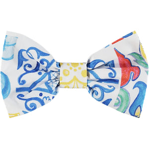 ADEE S211901 LEONA BRIGHT WHITE HAIR BOW