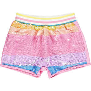 ADEE S213512 NORMA Sequin short set MULTI