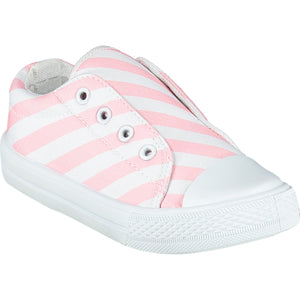 ADEE S215101 LACELESS PALE PINK TRAINER
