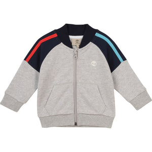 PREORDER  TIMBERLAND BOYS  T05K04 CARDIGAN SUIT CHINE GREY