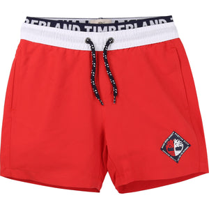 Timberland T24B00 Swim Shorts Red